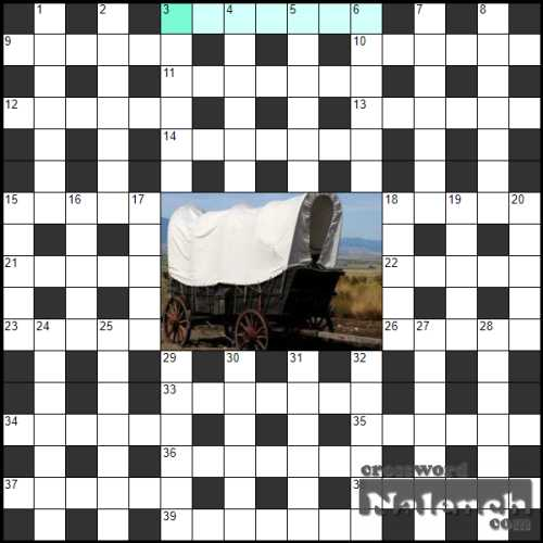 Solve Crossword «Gypsy house» online