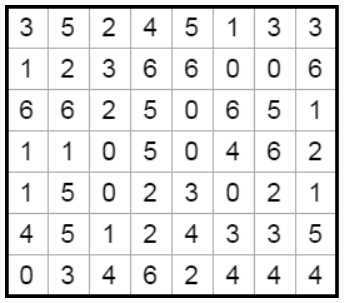 Solve Dominos 8x7 #1 Very Difficult online